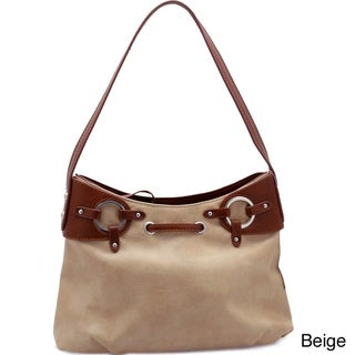Dasein Grommet Shoulder Bag