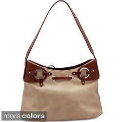 Dasein Grommet Shoulder Bag