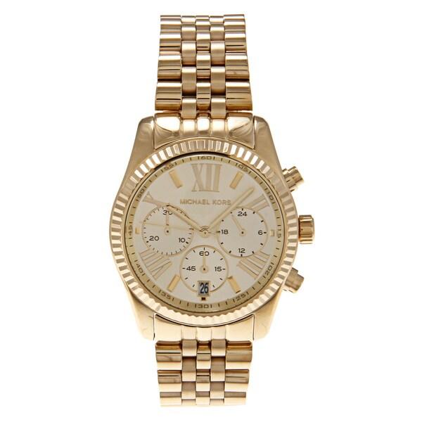 Michael Kors Women's MK5556 Goldtone Watch