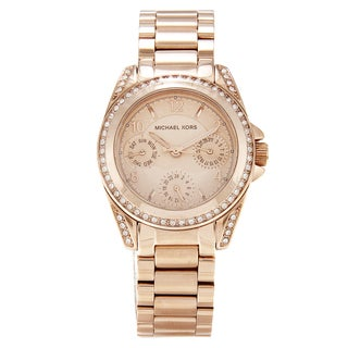 Michael Kors Women's MK5613 Mini Blair Rose Gold Watch
