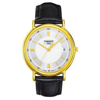 Tissot Men's T907.410.16.031.00 T-Gold Plated Carson Watch