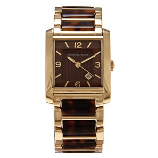 Michael Kors Women's 'MK4242' Stainless Steel Brown Dial Watch