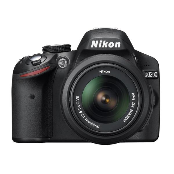 Nikon D3200 24.2MP Digital SLR Camera with 18-55mm Lens