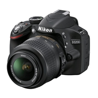 Nikon D3200 Digital SLR Camera With AF-S DX NIKKOR 18-55mm 1:3.5-5.6G VR Lens