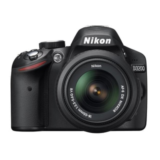 Nikon D3200 24.2MP Digital SLR Camera with 18-55mm Lens