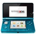 Nin3DS - Nintendo 3DS Handheld Game Console - Midnight Purple