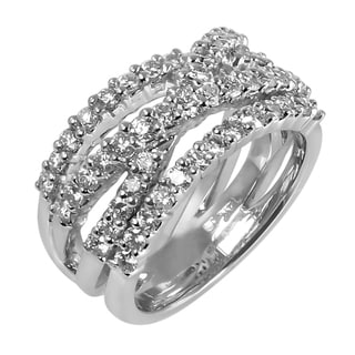 14k White Gold 1 1/4ct TDW Diamond Ring (H-I, SI3-I1)