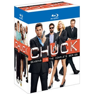 Chuck: Seasons 1-5- The Complete Series (Blu-ray Disc)