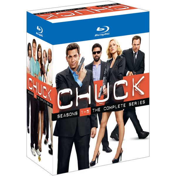 Chuck: The Complete Series (Blu-ray Disc) 9887342