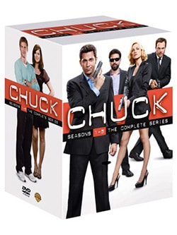 Chuck: Seasons 1-5 - The Complete Series (DVD)