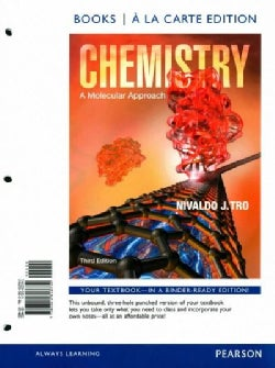 Chemistry: A Molecular Approach, Books a La Carte Edition (Other book format)