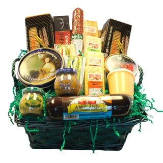 Deli Direct Wisconsin Cheese and Sausage Large Gift Basket