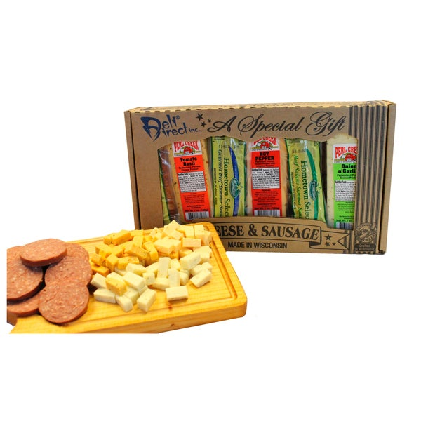 Deli Direct Cheese and Sausage Variety Pack