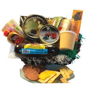 Deli Direct Wisconsin Cheese and Sausage Medium Gift Basket