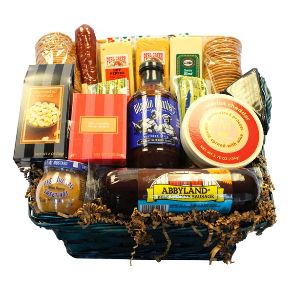 Deli Direct Gourmet Meat and Cheese Basket