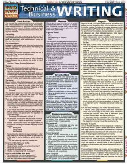 Technical and Business Writing (Wallchart)