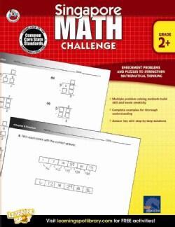 Singapore Math Challenge, Grade 2+ (Paperback)