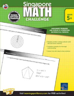 Singapore Math Challenge, Grade 5+ (Paperback)