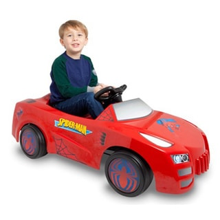 Spiderman 6-Volt Ride-on Car
