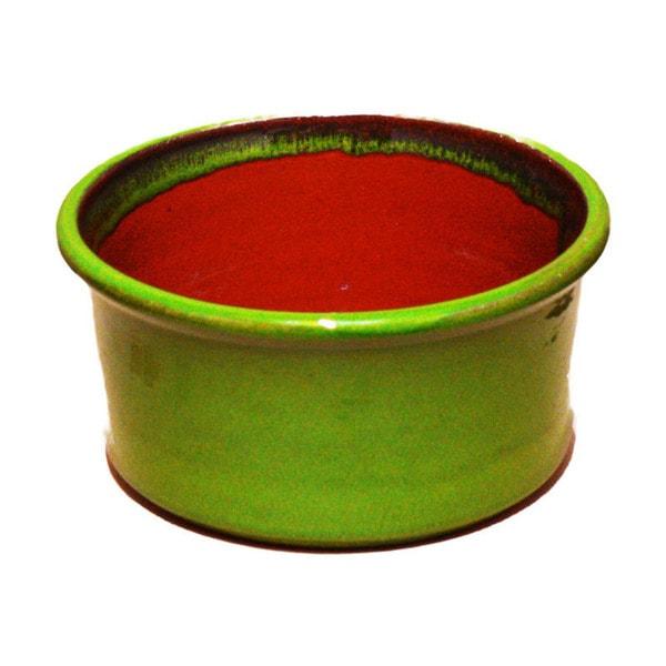 Terafeu French Refractory Green Clay 8-inch Souffle Dish