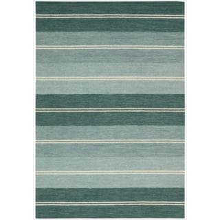 Barclay Butera by Nourison Oxford Seaglass Rug (7'9 x 10'10)