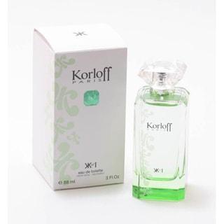 Korloff Paris Green Women's 3-ounce Eau de Toilette Spray