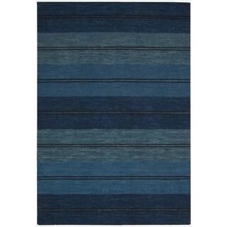 Nourison Barclay Butera by Nourison Oxford Stripe Rug (5'3 x 7'5)