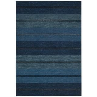 Barclay Butera Mediterranean Stripe Oxford Rug by Nourison