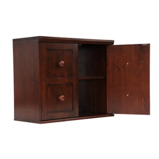 'Makena' Chestnut Grove Modular Storage Shelf