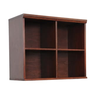 'Makena' Chestnut Grove Quad Modular Storage Shelf
