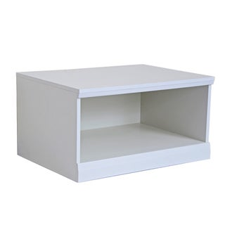 Integrity Direct Furniture Inc. &#39;Makena&#39; White Open Modular Storage Base