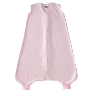 Halo Early Walker Soft Pink SleepSack Wearable Micro-Fleece Blanket