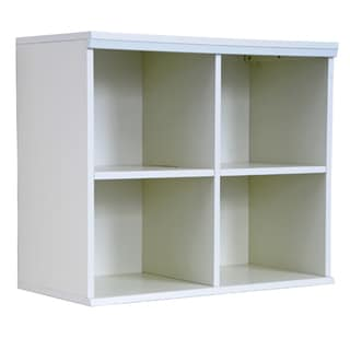 Integrity Direct Furniture Inc. &#39;Makena&#39; White Quad Modular Storage Shelf
