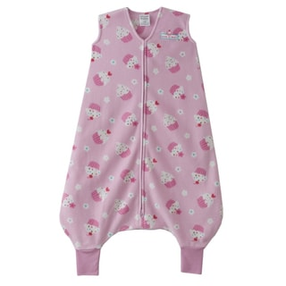 Halo Early Walker Pink Cupcake SleepSack Wearable Blanket