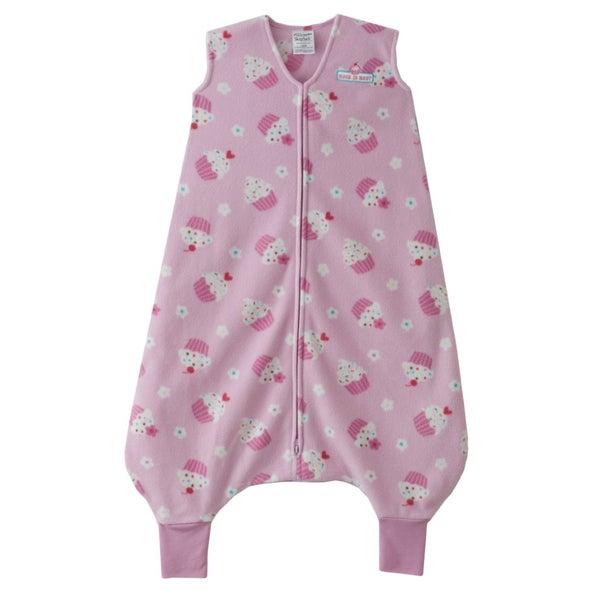 Halo Early Walker Pink Cupcake SleepSack Wearable Blanket