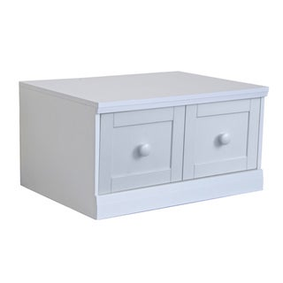 'Makena' Popcorn White 1-drawer Modular Storage Base