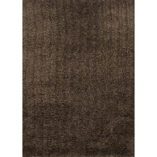 Hand-tufted Hedwig Brown Rug (9'3 x 13')