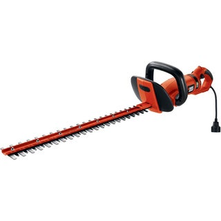 Black & Decker 24-Inch HedgeHog Hedge Trimmer With Rotating Handle/ Dual Action Blades