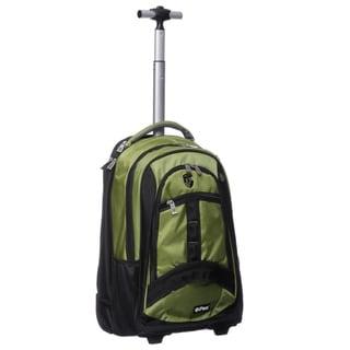 Heys USA Green ePac Rolling Backpack