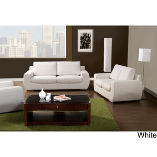 Furniture of America Epperson 2-piece Sofa and Loveseat Set