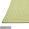 Hand-braided Cromwell Indoor/Outdoor Rug (2'3 x 3'9)
