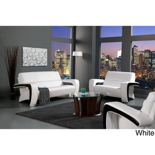 Furniture of America Trenzi Three-piece Sofa Set