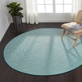 Hand-braided Cromwell Indoor/Outdoor Rug (7'10 x 7'10)