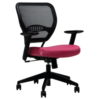 Office Star Professional Airgrid Breast Cancer Logo Chair