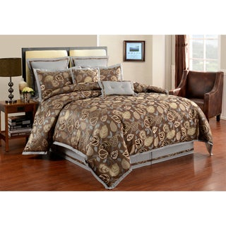 Serendipity Graphite 8-piece Comforter Set