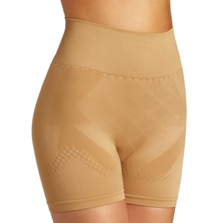 Stanzino Women's Nude Mid-thigh Girdle Underwear