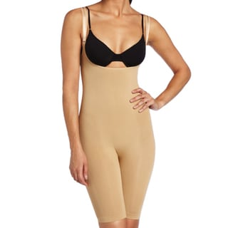 Stanzino Women's Nude Low-cut Shaping Bodysuit
