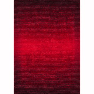 Hand-tufted Josephine Red Rug (3'6 x 5'6)