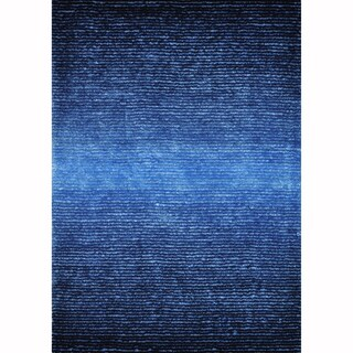 Hand-tufted Josephine Blue Rug (9'3 x 13')