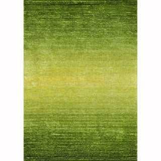 Hand-tufted Josephine Green Rug (3'6 x 5'6)
